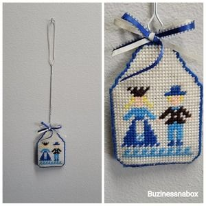 1970s Vtg Hand Stitched Fly Swatter